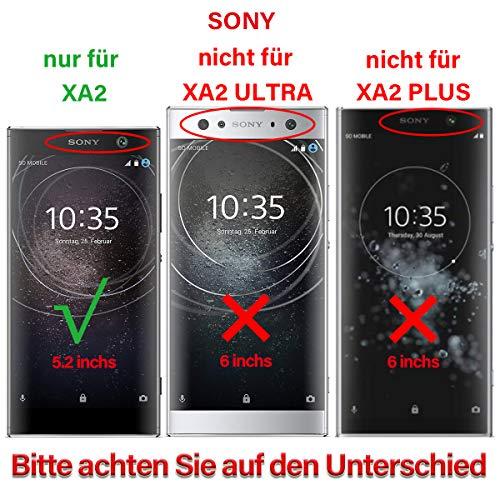 swark LCD Display Kompatibel mit Sony Xperia XA2 H3113 (Schwarz + Rahmen) Touchscreen Bildschirm Digitizer Assembly Glas + Tools
