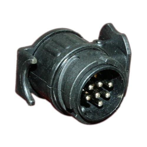 Old-Harvest 1 Anhänger Mini Adapter KFZ Eingang 13-polig auf 7 Pol mit Schutzkappe Stecker Neu