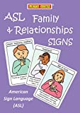 ASL Family & Relationships Signs eBook Flashcards: American Sign Language (ASL) (Let's Sign) (English Edition)