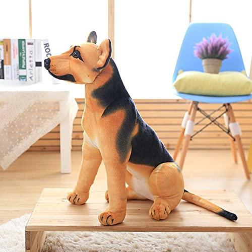 Niedliche Simulation Shepherd Plüsch Puppe Puppe Kindergeburtstagsgeschenk Kinderspielzeug Hund