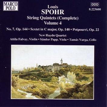 SPOHR: String Quintet No. 7 / String Sextet Op. 140 / Potpourri