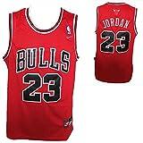 NBA Replica Maglia Canotta Michael Jordan dei Chicago Bulls - Colore Rosso - Taglia XL