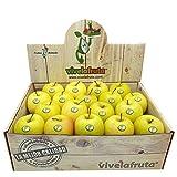 Manzana golden ecológica, 6 kilos, fruta fresca a domicilio, Manzana ecológica - Vivelafruta.com