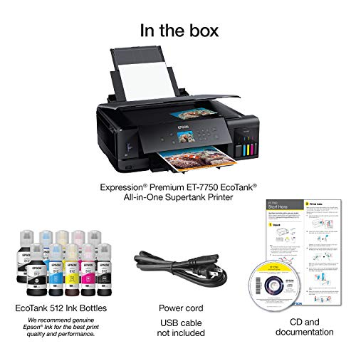 Epson Expression Premium  EcoTank Wireless 5-Color All-in-One Supertank Printer with Scanner, Copier and Ethernet Photo #6
