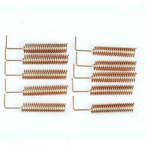 10pcs 433MHz Antenne Helical-Antenne Fernbedienung für Arduino Raspberry Pi