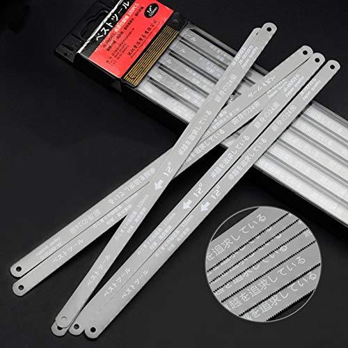 Xucus 300mm 12-inch Mini Hacksaw Blade Stainless Steel Hand Saw Blade Frame X7YF