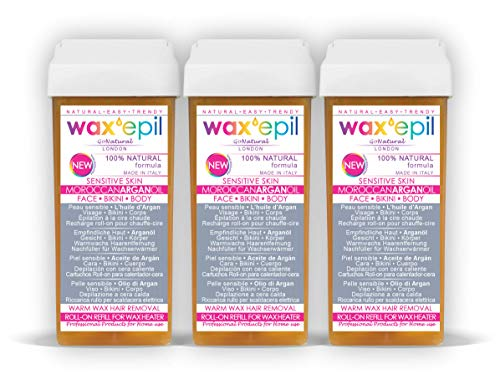 Nuevo! WAXEPIL'100% NATURAL' roll on cartuchos...