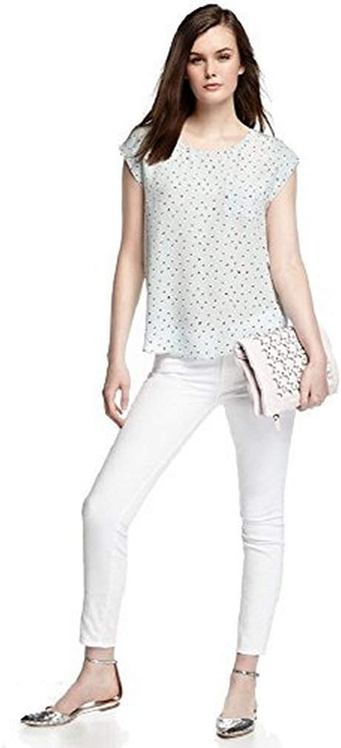 7 For All Mankind Women's Gwenevere AnkleCrop Super Skinny Jeans, Clean White