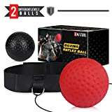 Xnature Boxen Training Ball Reflex Fightball Speed Fitness Punch Boxing Ball mit Kopfband,...