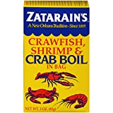 Zatarain's 071429015708 Crawfish, Shrimp & Crab Boil, 3 Oz, Pack of 6