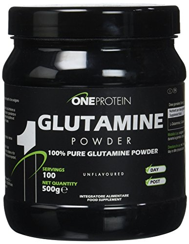 Glutamine Powder integratore alimentare a base di L-Glutammina in polvere (500 grammi)