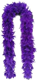 SACASUSA (TM) 100g Turkey Feather BOA Brand New in POLY BAGS ! Turkey Feather Chandelle Boa 6 feet long (20 colors to Pick)