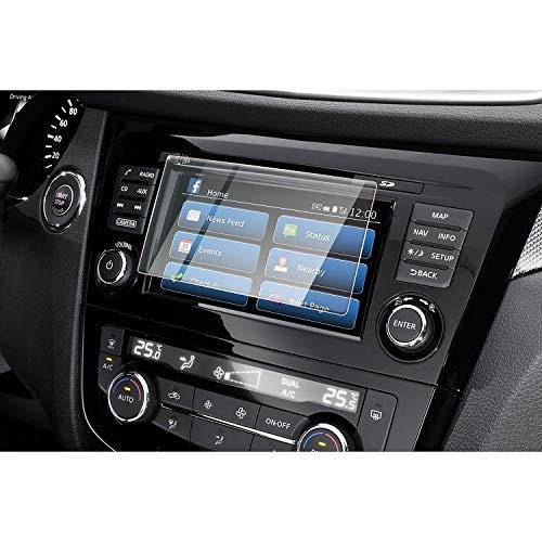 CDEFG para Nissan X-Trail T32 Protector de Pantalla de Vidrio Templado, HD Auto 9H GPS Navi película protegida Glass