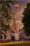 Poster 40 x 60 cm: Frauenkirche Dresden von Stefan Becker -