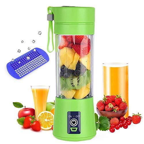 LYYN 380ml Tragbarer Entsafter Elektrischer USB Wiederaufladbarer guter Mixer Maschinenmischer Mini Juice Cup Maker Küchenmaschine