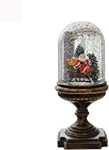 Biezutu LED Noche luz Ambiente atmósfera luz lámpara de cabecera decoración de Navidad nórdico Estilo Retro Regalo de cumpleaños