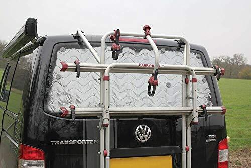 Just Kampers Thermo-Jalousie für die Heckklappe, silberfarben, kompatibel mit VW T5 Transporter 2003–2015