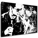 Kunstdruck Depeche Mode Leinwandbild fertig auf Keilrahmen