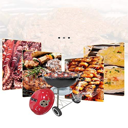 51PF9P9BujL - YWZQ Charcoal BBQ Grill Pit, Outdoor-Camping-Kocher Garten Grill Werkzeuge Grillzubehör Kochen Werkzeuge Küchen