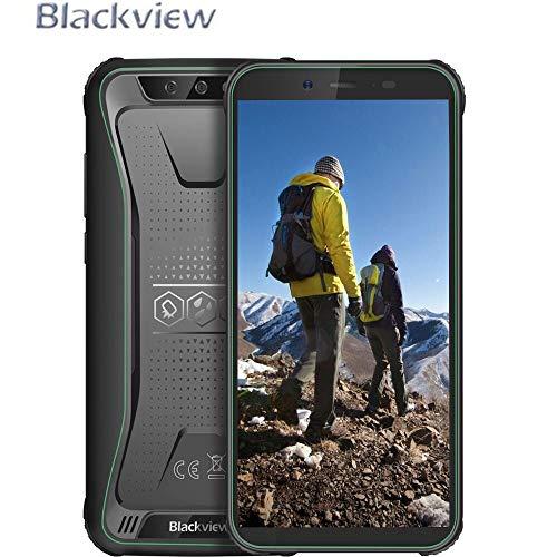 "Blackview BV5500 Pro Telefono Antiurto, 4G LTE Android 9.0, 3GB RAM e 16 GB ROM, Telefono Rugged, Display 5.5"", Batteria 4400 mAh, Fotocamera 8MP e 5MP, Dual SIM/NFC/GPS/GLONASS Verde"
