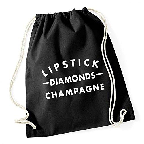 Certified Freak Lipstick Diamonds Gym Black