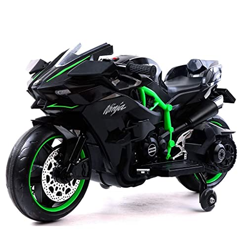 12V Electric Motorcycle Kids Ride on Toys, Mini Electric Bike with Flashing Wheels ,LED Light ,...
