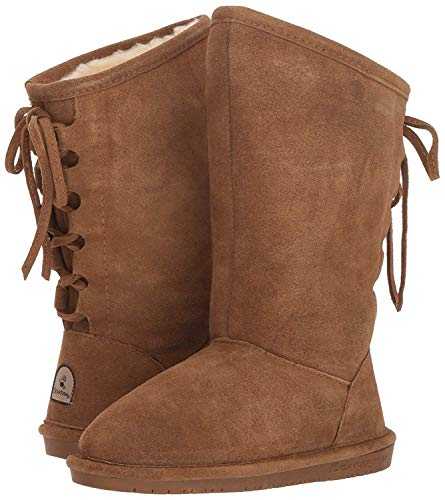 BEARPAW Women's Phylly Boot (6 M US, Hickory)