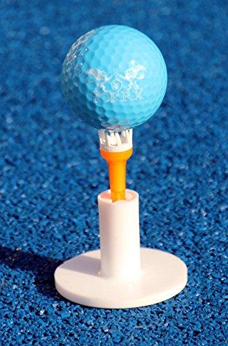 """Golftrolley Yorrx® SL Pro 7 HAMMA """"PLUS"""" Ausstattung, Golfwagen mit innovativem 360° SPIN Vorderrad (weiß) inkl. orig. Yorrx Golfhandtuch & Tees … - 5"""