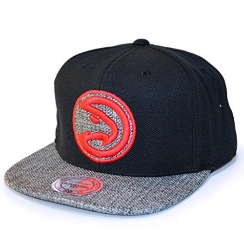 Mitchell & Ness Atlanta Hawks Woven Tc Black Snapback