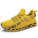 UMYOGO Men's Running Shoes Cushioning Energy Rebound...