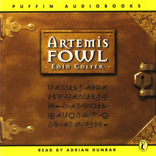 Artemis Fowl audiobook cover art