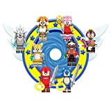 New Sonic Toy Figures Set - Deluxe Action Heroes from Sonic - Gift for Boys and Girls