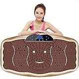H-XH Vibrationsplatte Vibrationsgerät,Fitness Vibrationstrainer 200 Kg 4d Vibrationstrainer Mit Bluetooth-Lautsprecher Für Gewichtsverlust Und Durchblutung