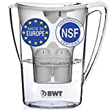 BWT Award Winning Austrian Quality Water Filter Pitcher, Patented...
