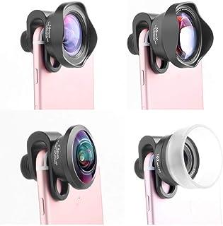 L.J.JZDY telefonlins mobiltelefon extern lins professionell SLR uppsättning fyra i en vidvinkel macro fisheye porträtt lin...