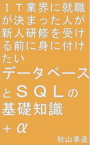 IT業界に就職が決まった人が新人研修を受ける前に身に付けたいデータベースとSQLの基礎知識+α