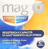Mag Stress Resist grazie alle proprietà tonico-adattogene dell'estratto di Rhodiola Rosea aiuta l'organismo nelle situazioni di stress e stanchezza mentale; favorisce inoltre il normale tono dell'umore La vitamina B9 contenuta in Mag Stress Resist co...