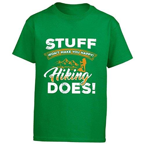 Stuff Won039;t Make You Happy Hiking Does - Boy Boys T-Shirt