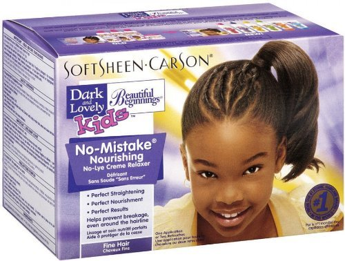 Dark & Lovely Beautiful Beginnings Kit Fine Hair Kids