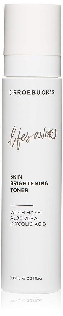 主に分解する成果DR ROEBUCK'S Lifesaver Skin Brightening Toner(100ml)