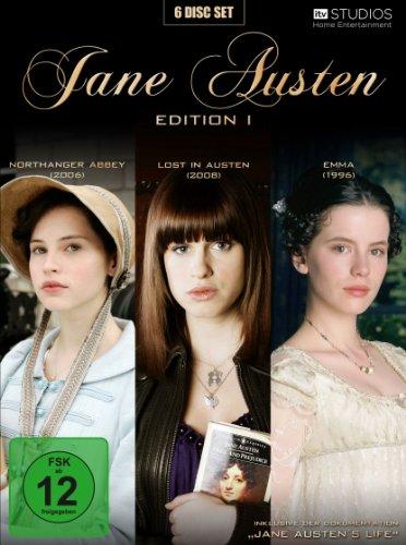 Jane Austen Edition 1 (Northanger Abbey / Lost in Austen / Emma) (6 DVDs)