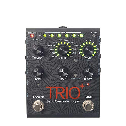 Digitech TRIO Plus Band Creator Guitar Pedal with Looper