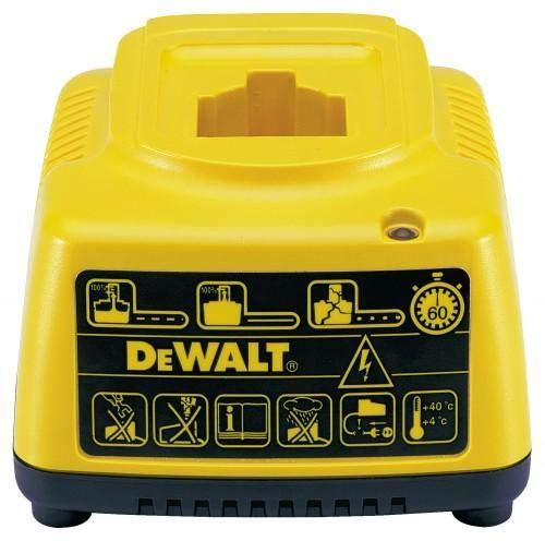 DeWalt 1-Stunde-Standard-Schnelladegerät (für alle NiCd- und NiMH-Akkus geeignet, für alle 7,2 bis 18 Volt-Akkus geeignet) DE9116