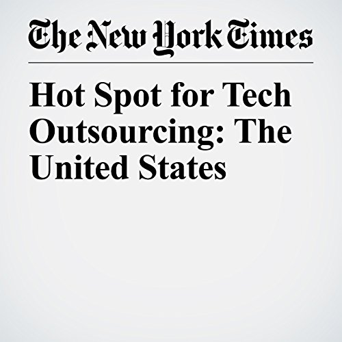 Hot Spot for Tech Outsourcing: The United States copertina