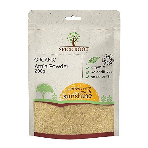 Bio Amla Pulver (Indian Gooseberry) 200g - Bio-zertifiziert, Premium Qualität
