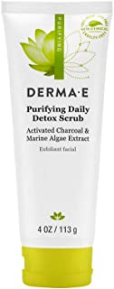 Derma E Activated Charcoal Purifying Daily Detox Scrub, 113 g
