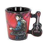 Nemesis Now C3625J7 - Tazzina da caffè Elvis '68, in resina con acciaio INOX