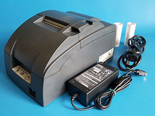 Price comparison product image Epson TM-U220B M188B POS Receipt Printer USB Interface - Red & Black Ribbon - with Power Supply