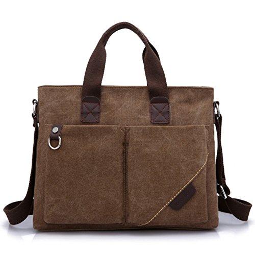 borsa di tela/pacchetto M/borsetta/ventiquattrore/borsa a tracolla da uomo/Business Messenger Bag/borsa del computer casuale-D