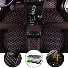 All Weather Floor Mat for 2004-2006 Subaru Outback Full Protection Car Accessories Black & Red 3 Piece Set